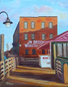 Downtown Wilmington - Joy Parks Coats Art