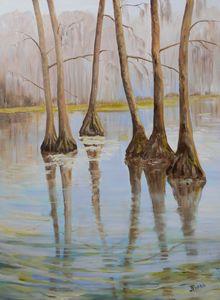 Reflections - Joy Parks Coats Art
