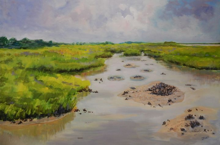 Low Country Morning - Joy Parks Coats Art