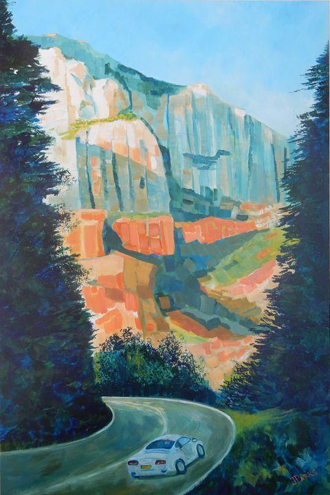Road to Sedona - Joy Parks Coats Art