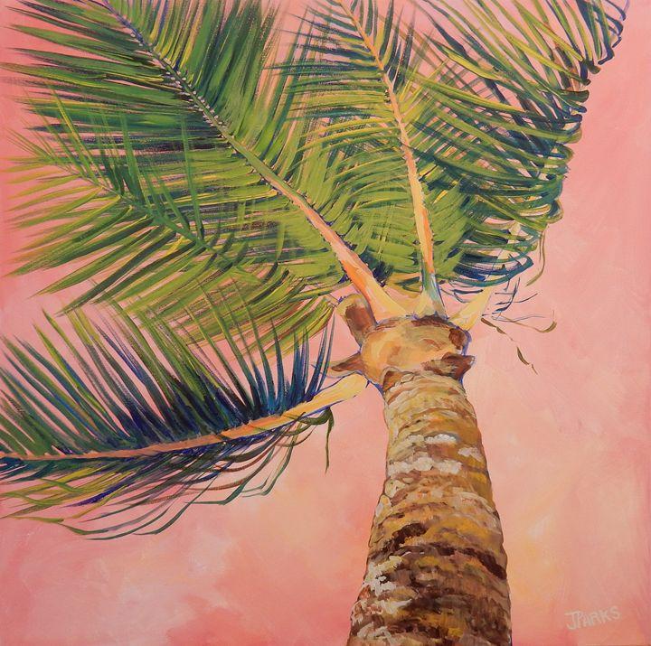 Palm No. 2 - Joy Parks Coats Art
