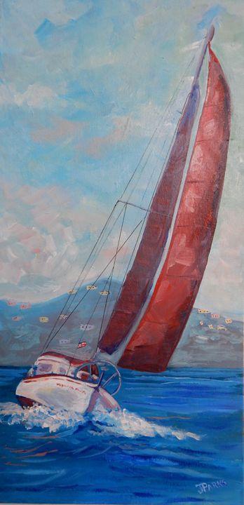 The Wayward Sailor - Joy Parks Coats Art