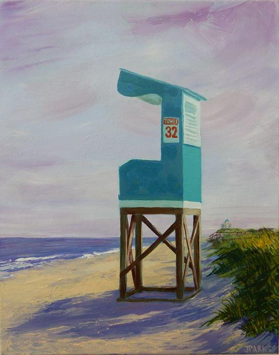 Tower 32 - Joy Parks Coats Art