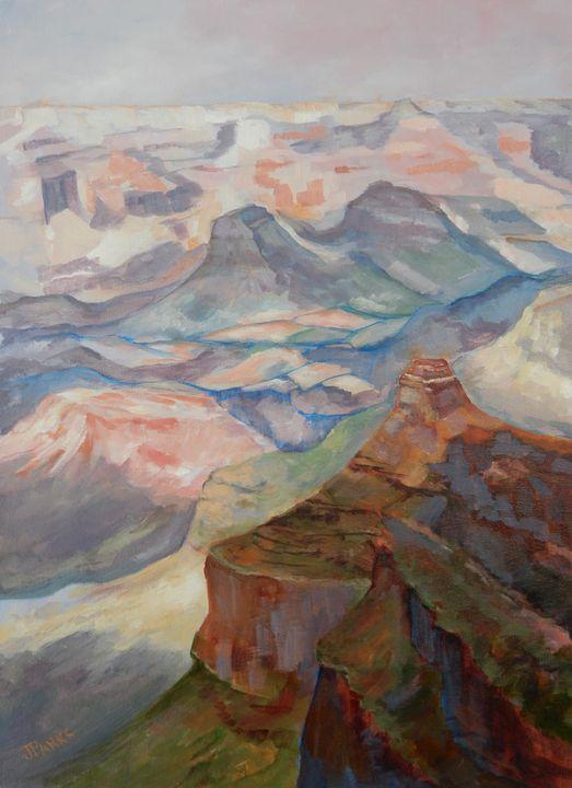 Canyon - Joy Parks Coats Art