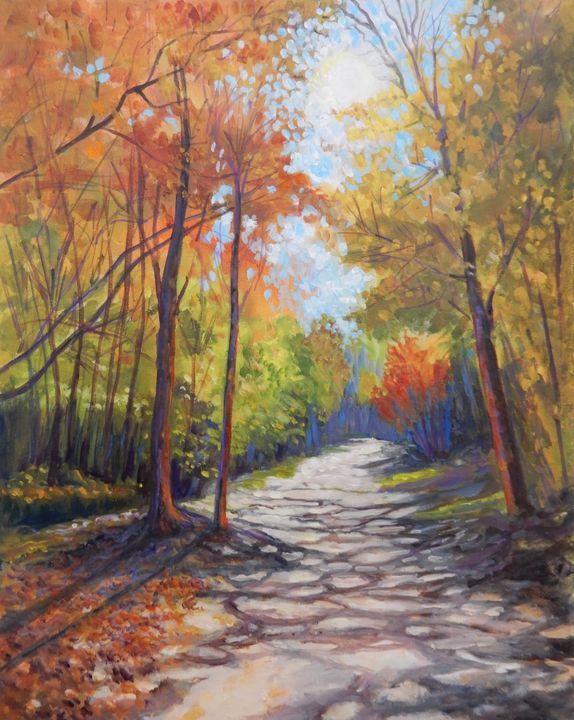 Impressions of Fall - Joy Parks Coats Art