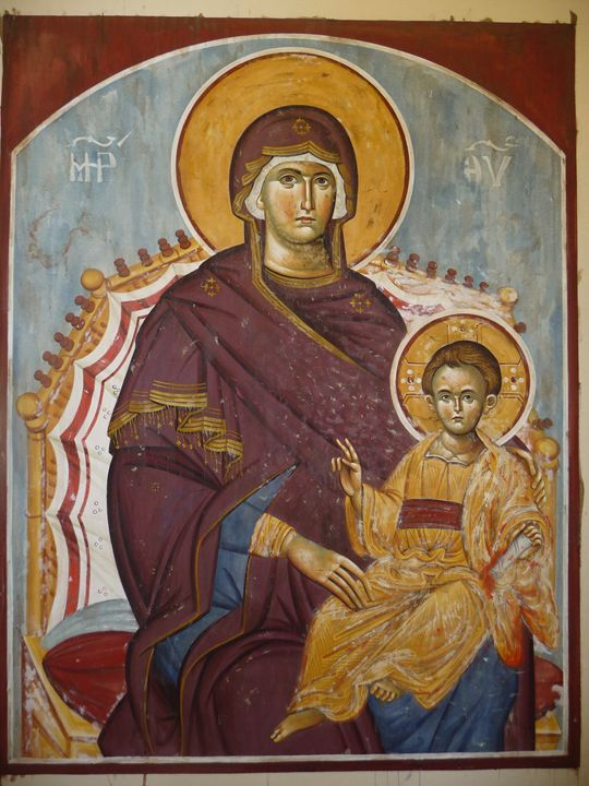 Virgin Mary - Sidiropoulos Georgios