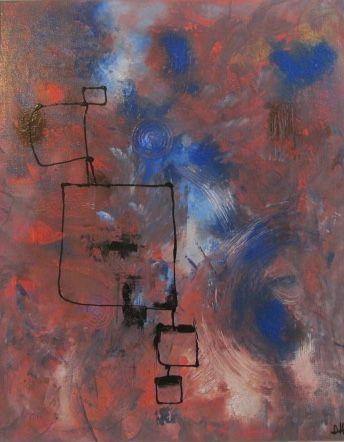 Original Abstract Art - Dharsh Art