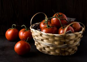 Tomatoes basket