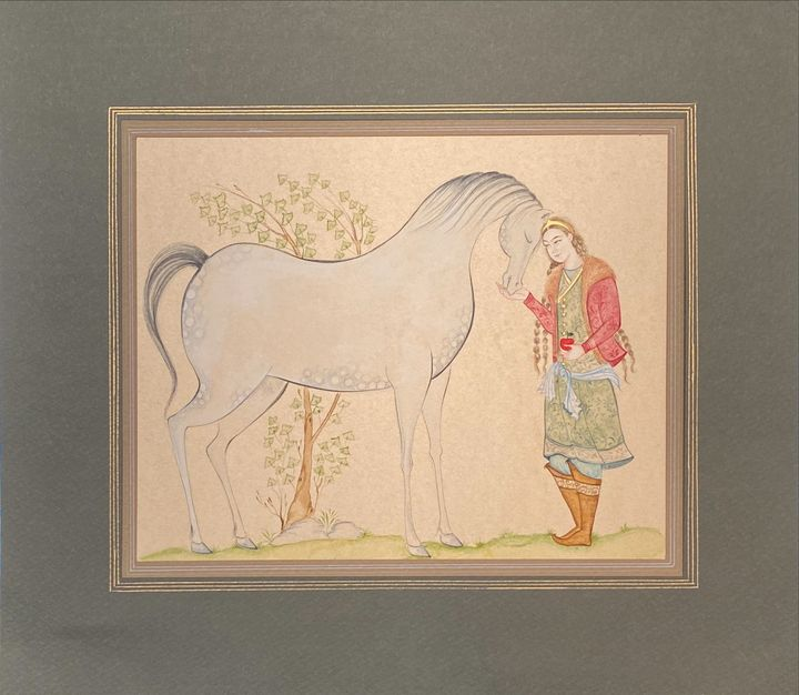 The Lady with horse - Noon Vav