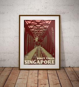 Singapore - Bukit Timah Bridge