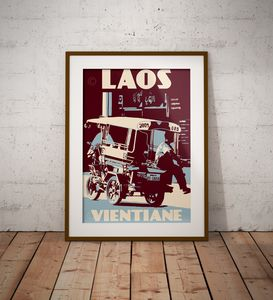 Laos - Vientiane - Tuk Tuk