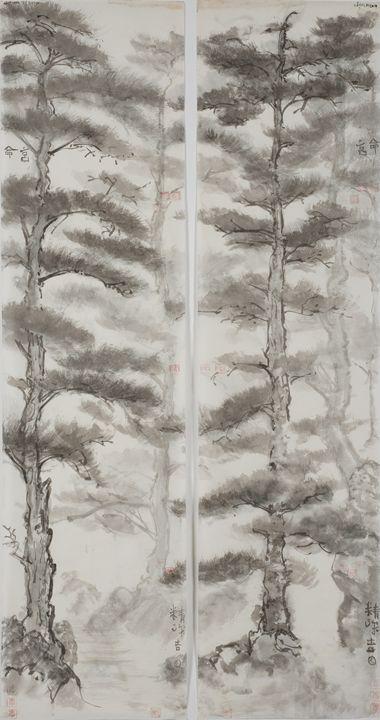 South West Moté Sole Pine. - The Greenleaf Gallery llc