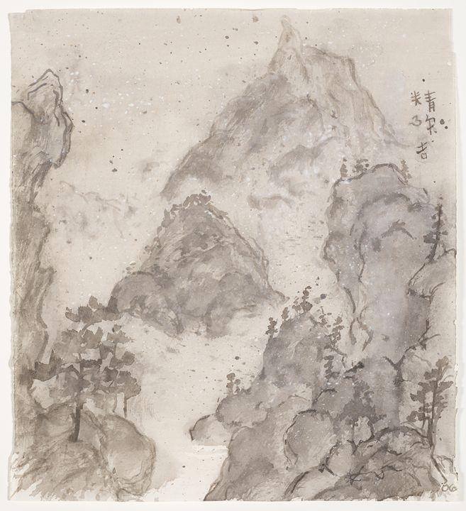 Misty Walk To Mountain Falls - The Greenleaf Gallery llc