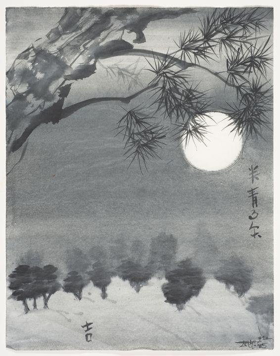 Moon Light Pine - The Greenleaf Gallery llc