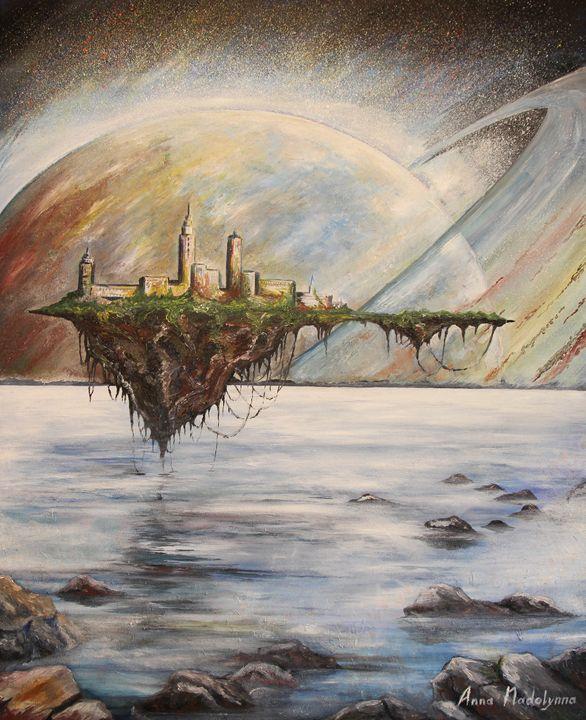 Floating island - Anna Nadolynna-Harris