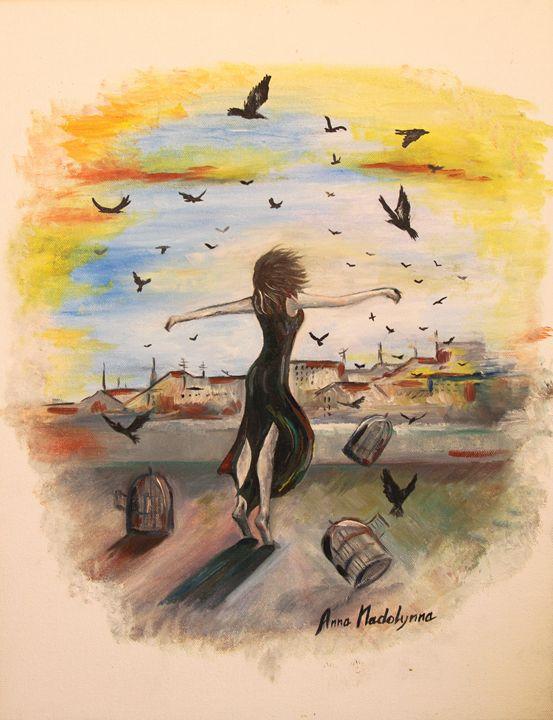 Freedom - Anna Nadolynna-Harris