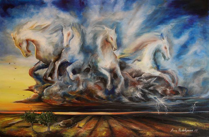 Thunderstorm - Anna Nadolynna-Harris