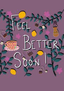Feel better soon card!