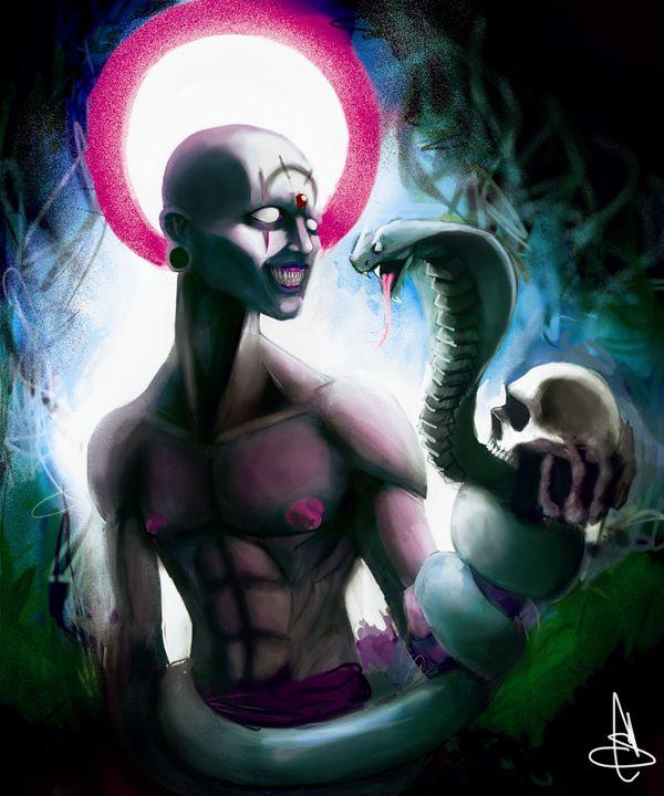 """snake skull - Stephan """"the Bladesmaster"""" Chambers"""