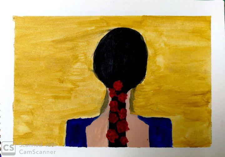 Blue Lady - Artist_Shubhangi