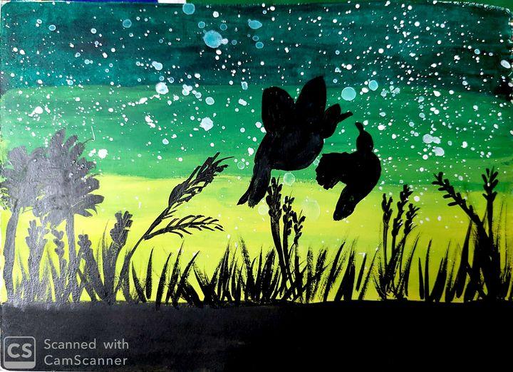 Bloom Birds - Artist_Shubhangi
