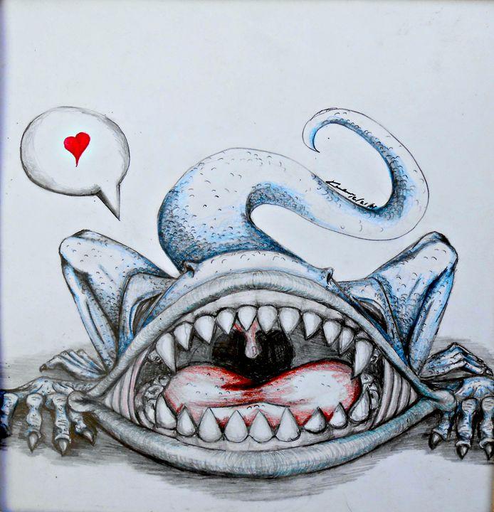 Monsters Need Love Too... - Karla Mariana