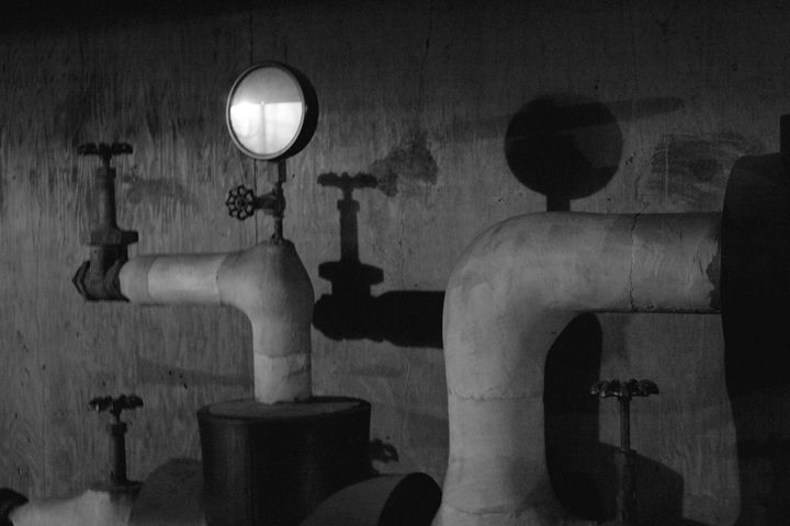 Pipes and shadows - Fine Art By Jamie