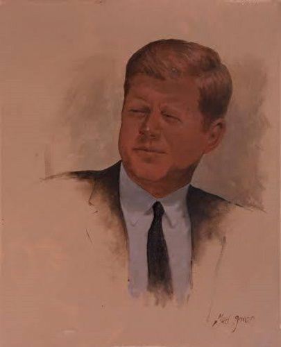 John F Kennedy - Famous Portraits