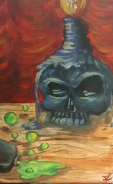 Dark Magic - R' Studioz Art by RaeLynn Hunter
