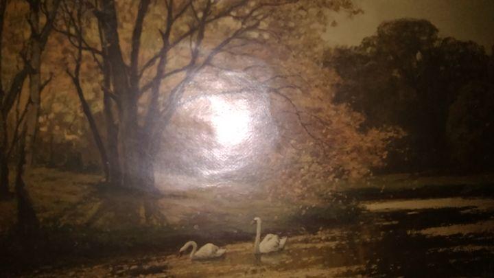 Konrad mueller kurzwelly swan lake o - Konrad Mueller Kurzwelly swan lake original