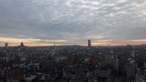 Beginning Of Sunset