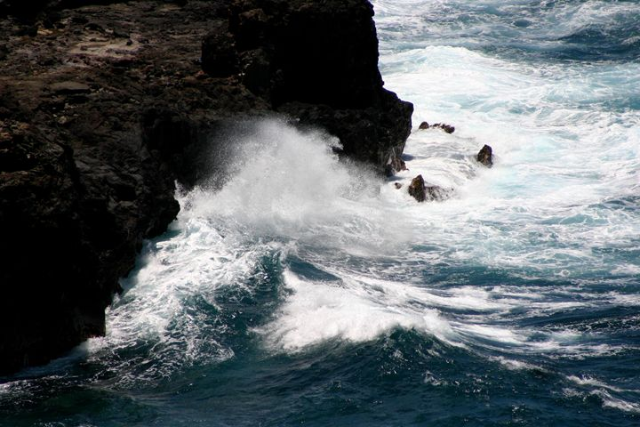 Crashing Waves - Chandra Lynn PhotoArt