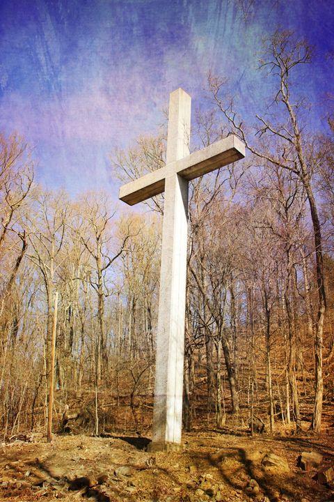 Walk to the Cross: Winter - Chandra Lynn PhotoArt