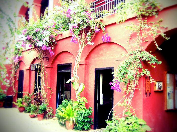 Goree Courtyard - Chandra Lynn PhotoArt