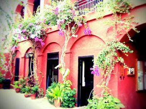 Goree Courtyard