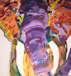 Purple Elephant