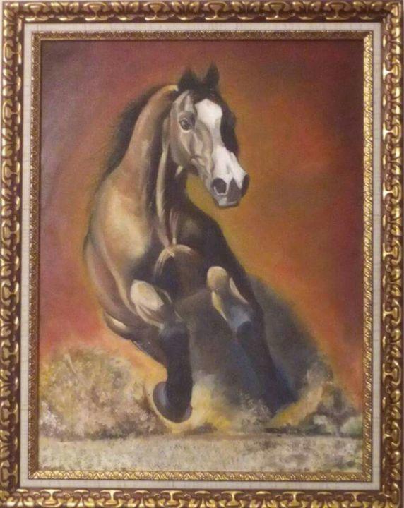 Winner horse - Inama Alakbarzadeh