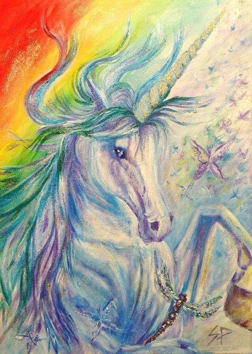 Rainbow Unicorn - Spiritinart