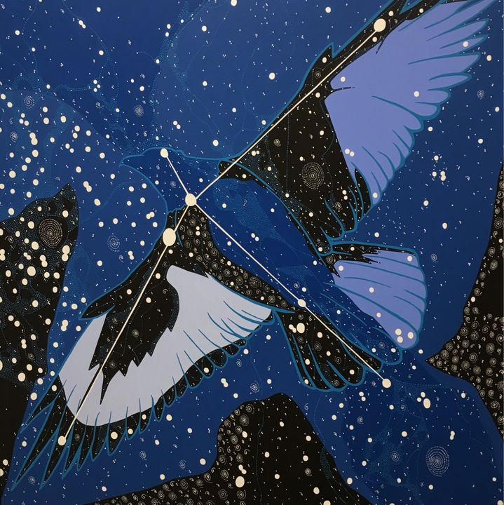 Constellation Harriet the Eagle - Ugly Daisy Studio