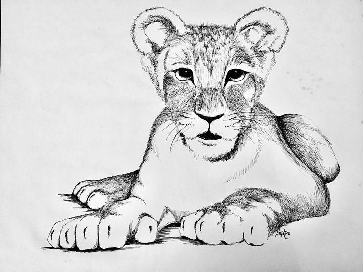 Otis Donteatus the Lion Cub - Ugly Daisy Studio