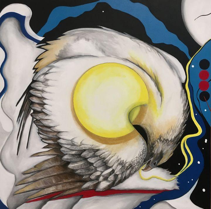 Night Eagle - Ugly Daisy Studio
