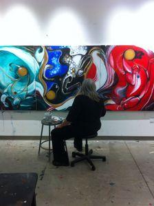 Artist MaryBeth Garrigan