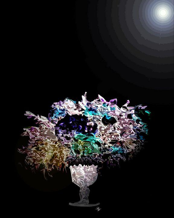 Moonlight Bouquet - Billy Wayne Art