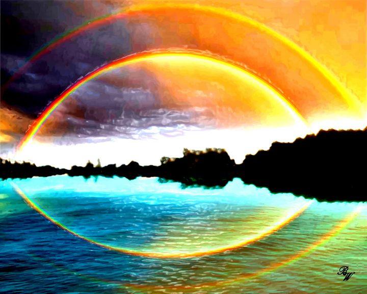 Rainbow Rendition - Billy Wayne Art