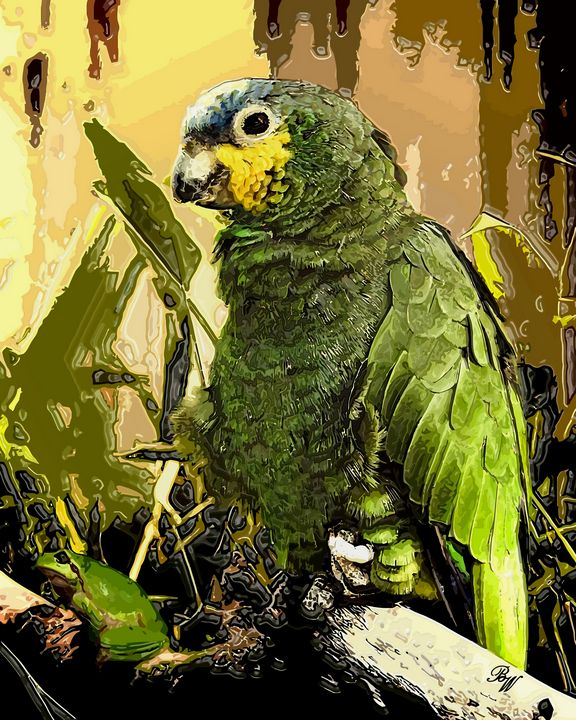 Green - Billy Wayne Art
