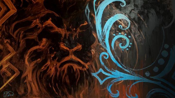 Blue Royal - DionysusGallery.com