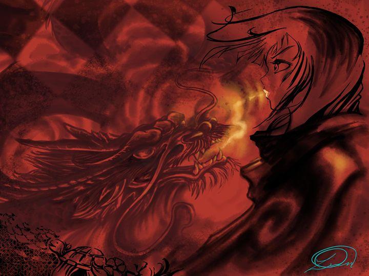 Red Dragon - DionysusGallery.com