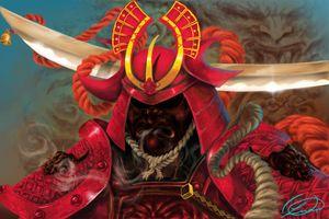 Samurai Warrior - DionysusGallery.com
