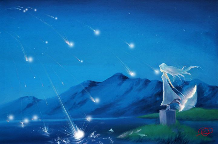 Shooting Stars - DionysusGallery.com