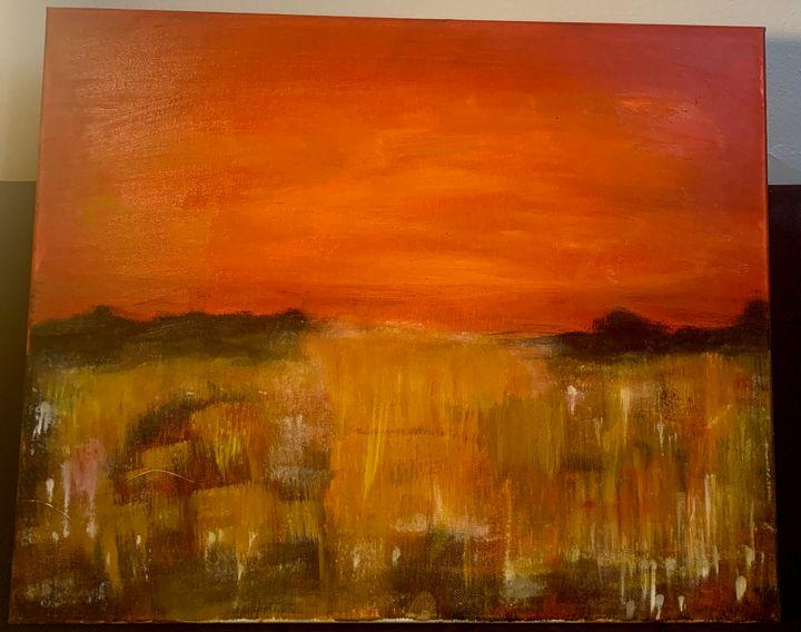 Cascade of Fire - Kalamity Art